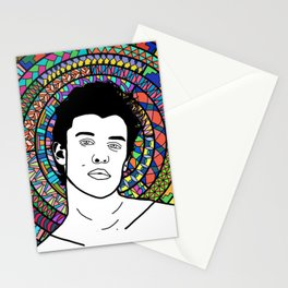 Shawn M with Patterns Stationery Cards