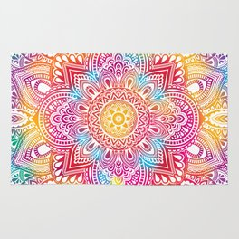 Madala Ombre Colorful Rug