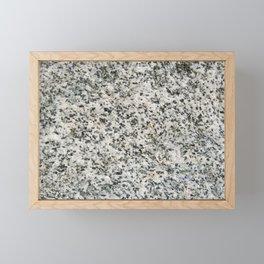 TEXTURES -- Riverstone 3 Framed Mini Art Print