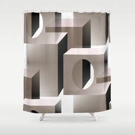 Kubes Shower Curtain