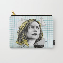 Nazaré Tedesco – Math Lady / Confused Blonde Meme Carry-All Pouch