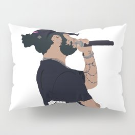 Russ Cartoon Pillow Sham
