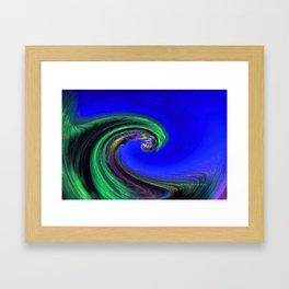 """Night Wave"" Photograph Framed Art Print"