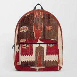 Sivas Saf Central Anatolian Kilim Print Backpack