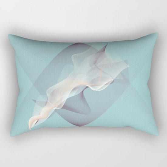 Tangled ghosts Rectangular Pillow