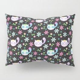 Cute Dia De Los Muertos Cats Pillow Sham