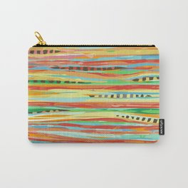 stripes & striped Carry-All Pouch
