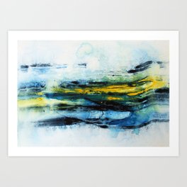 Immersed Art Print