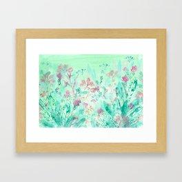 March Garden Framed Art Print