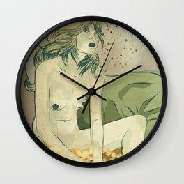 Danae as Tracey Emin Wall Clock