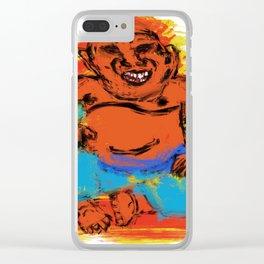 fat buddha Clear iPhone Case