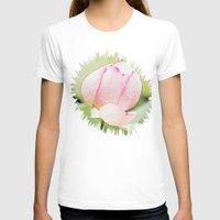 buddhism T-shirts featuring Lotus by Karl-Heinz Lüpke
