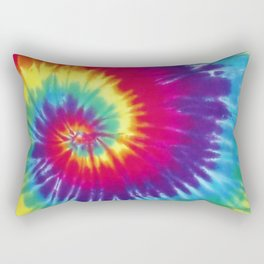 Tie dye hippie Rectangular Pillow