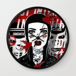 IL EST INTERDIT D'INTERDIRE Wall Clock