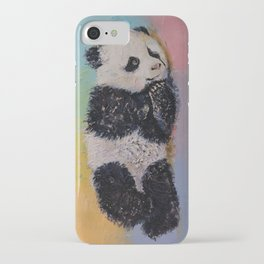 Baby Panda Rainbow iPhone Case