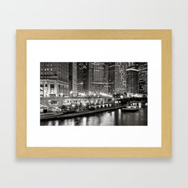 Chicago River Framed Art Print