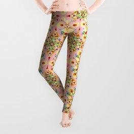 Pink Confetti Leggings