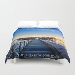 Kastrup Sea Bath, Copenhagen Duvet Cover