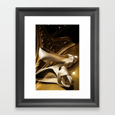 Bride to Be Framed Art Print