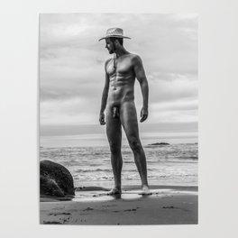 Profile Cowboy Poster