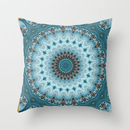 Serenely Amplif-Eyed Throw Pillow