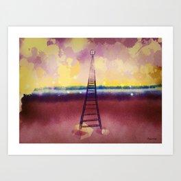 Rains Reach Art Print