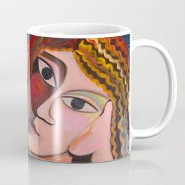 Girl and Chihuahua by Shelly Penko Coffee Mug