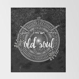 Old Soul 1 Throw Blanket