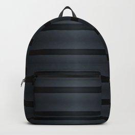 Black Silk Stripes Backpack