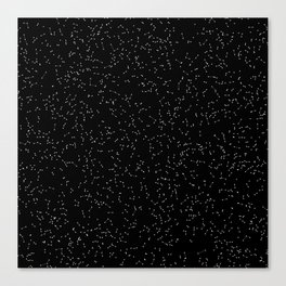 Particle System Canvas Print