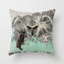 Cortex Throw Pillow