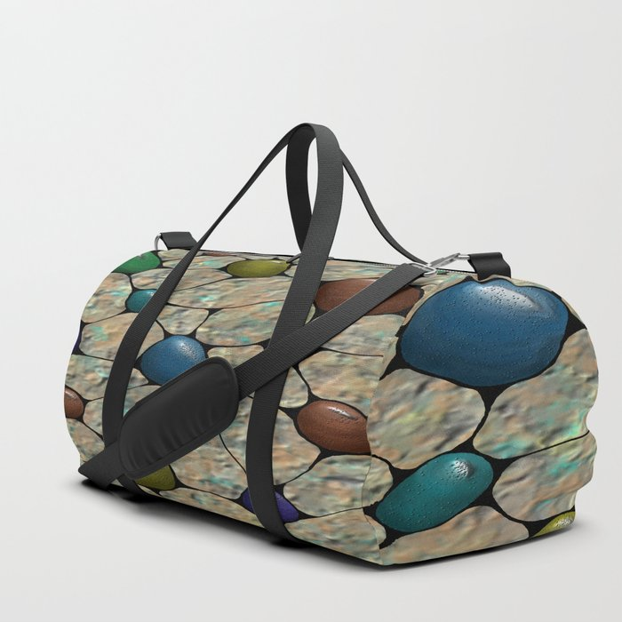 Like a Rhinestone Hipster Duffle Bag