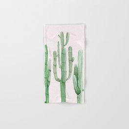 Three Amigos Pink + Green Hand & Bath Towel