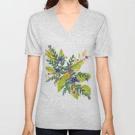 Flower Bundle Unisex V-Neck