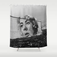 atlanta Shower Curtains featuring Atlanta by MartiGrasz