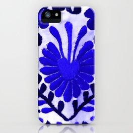 Strange Love Blue iPhone Case