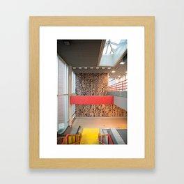Detroit People Mover Art Broadway Framed Art Print