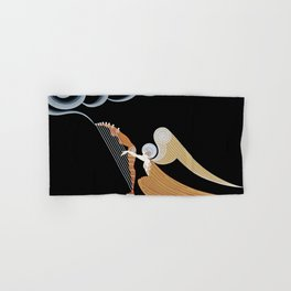 "Art Deco Design ""The Angel"" Hand & Bath Towel"