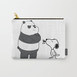 snoopy and we bare bears Carry-All Pouch