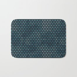 Rain Drop Pattern Bath Mat