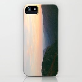 Linville Gorge Sunset iPhone Case