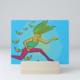 Electric Griot: Leap Mini Art Print