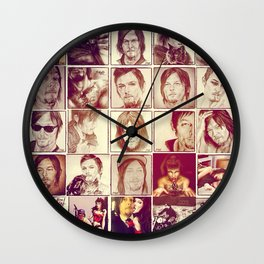 All of Them Wall Clock