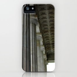 Lincoln Colonnade iPhone Case