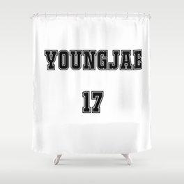 GOT7 YOUNGJAE 17 Shower Curtain
