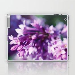 Lilacs close up Laptop & iPad Skin