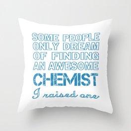 CHEMIST'S DAD Throw Pillow