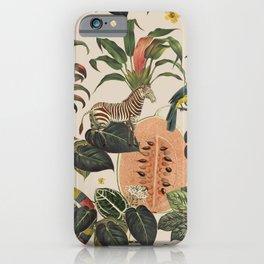 Jungla Crema iPhone Case