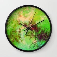 Goddess Of Death Wall Clock