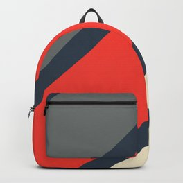 3 Retro Stripes #4 Backpack